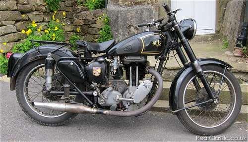 AJS motorbike 2