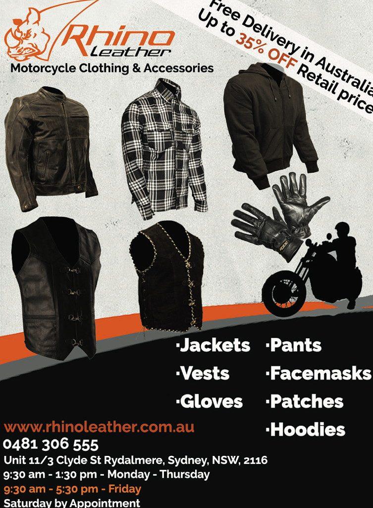 Rhino Leather Ozbike 417 E1602032495948