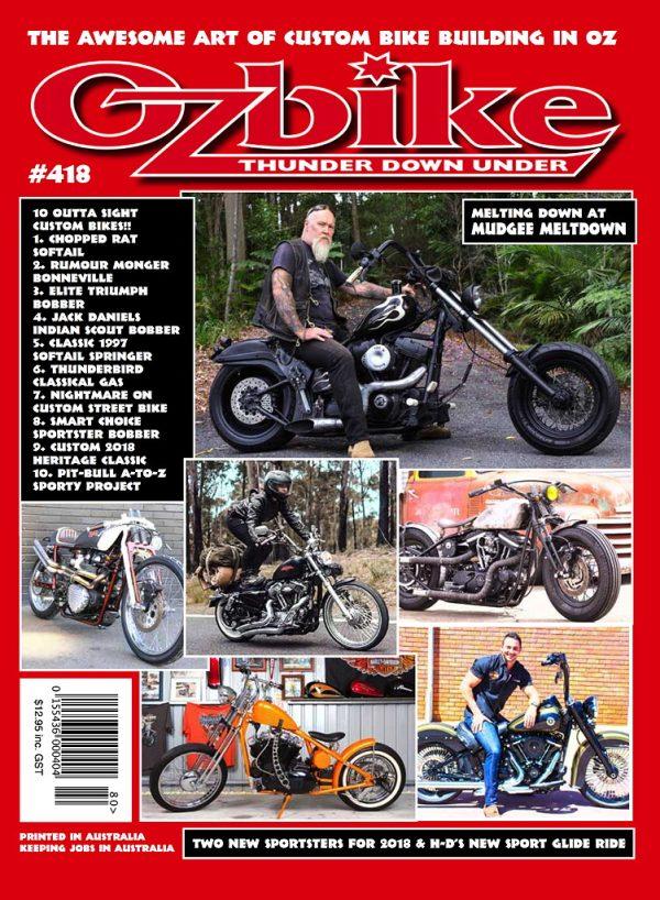 Ozbike 418 Cover