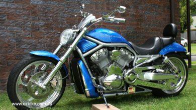 The Blue Flash V-Rod ozbike_4