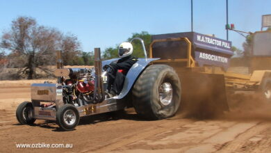 Modified V8 Tractor Pull 1