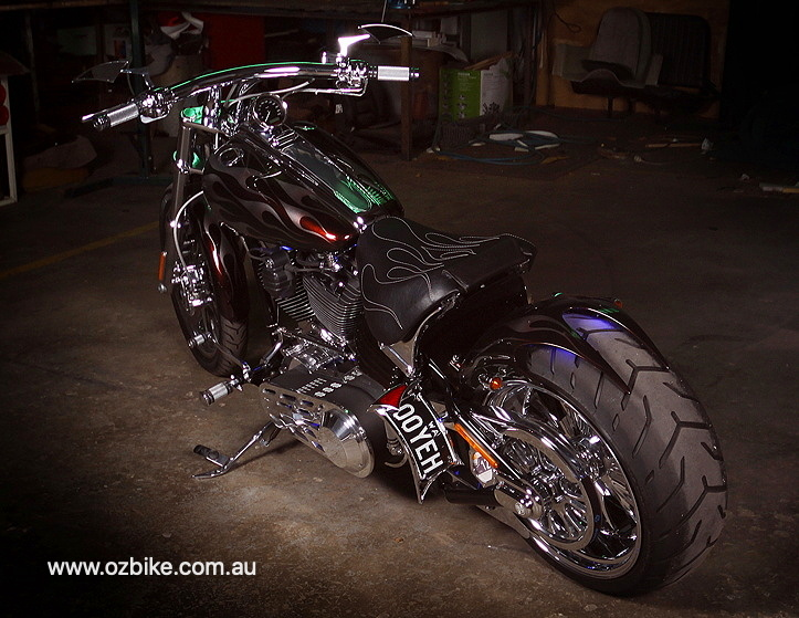 custom Harley Rocker C 10