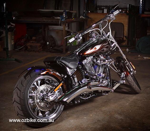 custom Harley Rocker C 111