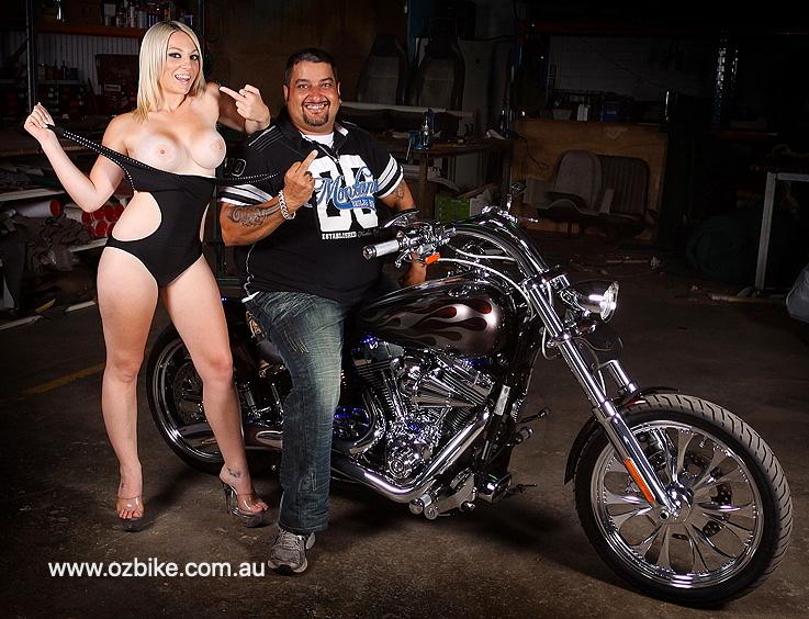 custom Harley Rocker C 12