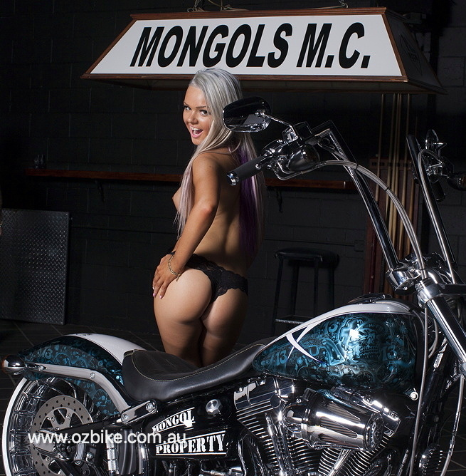 Harley Breakout Mongols MC 3