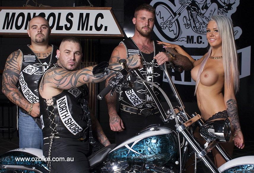 Harley Breakout Mongols MC 5