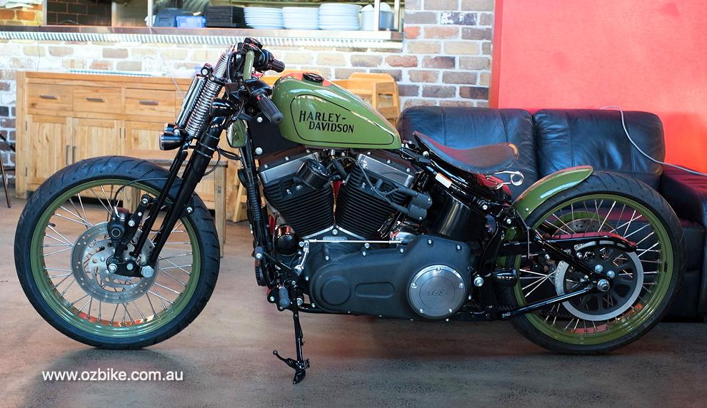 Harley flat track racer 27