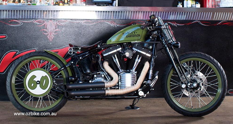 Harley flat track racer 35
