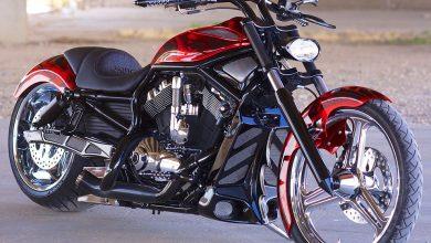 custom Harley V-Rod 17