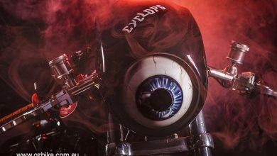 Monster drag motorbike 4