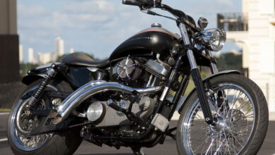 modified Harley Sportster 11