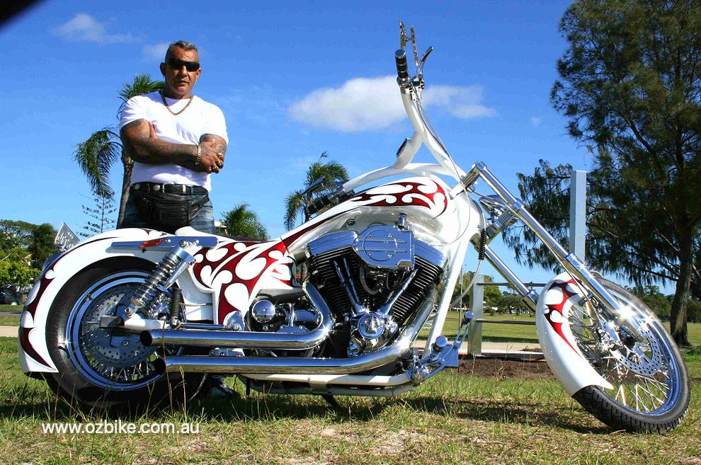 custom FXR Harley