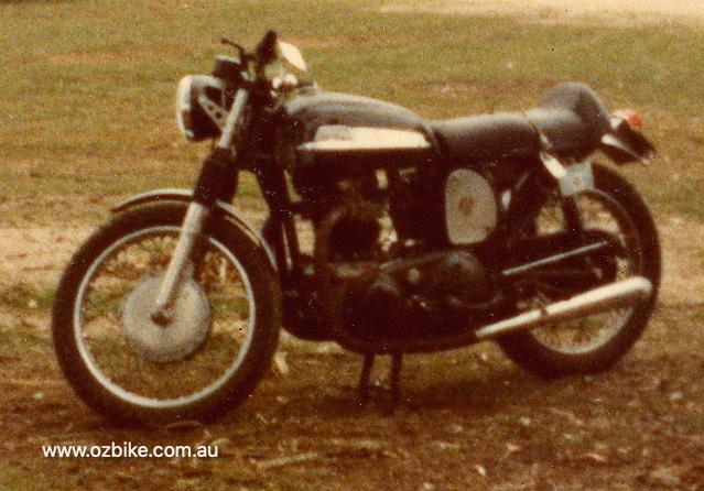 Peter's 1970 Norton Mercury
