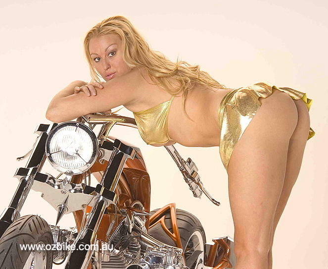 Doc Hog's custom Harley