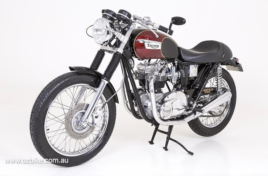 Restored 1973 Triumph Bonneville T140V