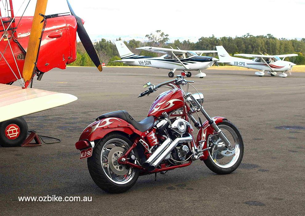 custom Harley-Davidson motorcycle