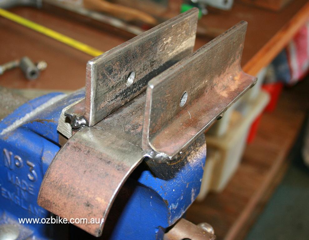cutting Harley-Davidson rear belt