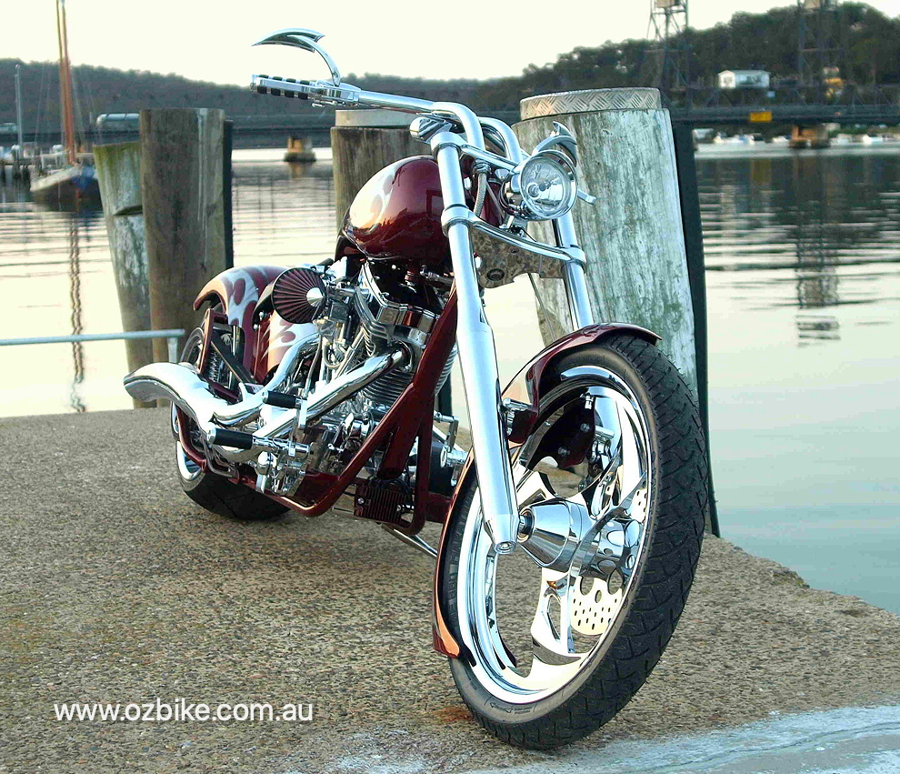 Big Bear Chopper motorbike