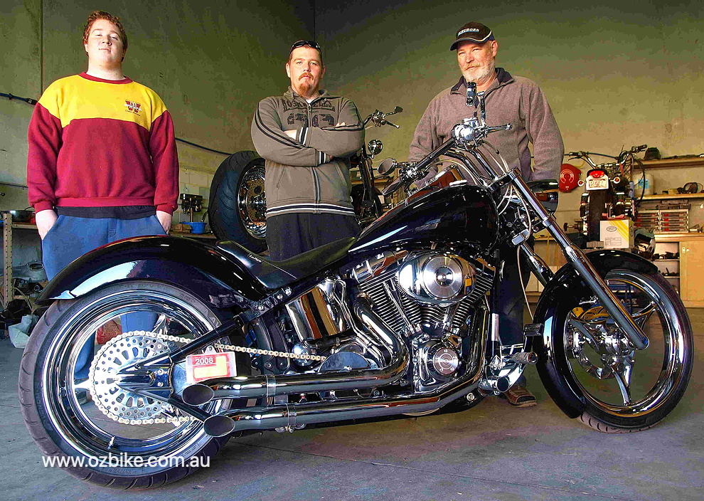 custom Harley-Davidson Heritage