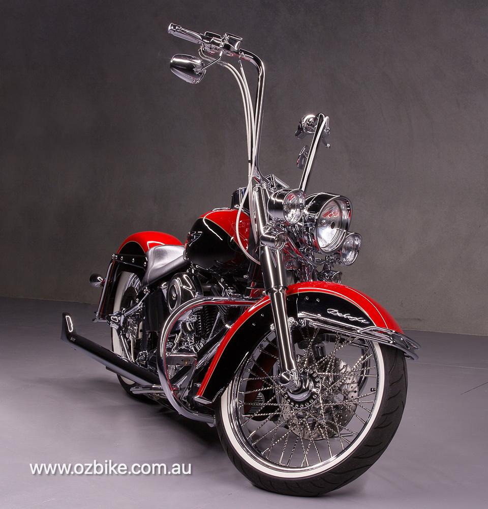 customised Harley-Davidson Deluxe