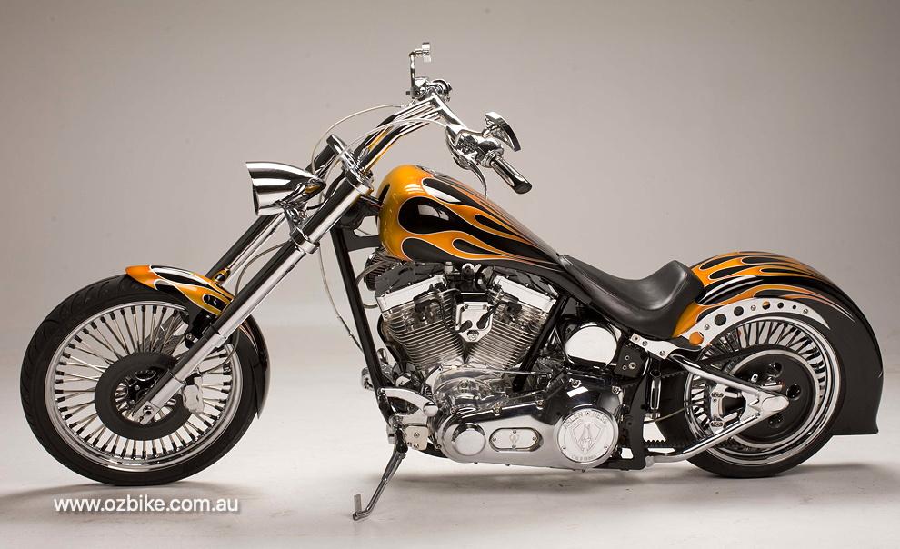 127 cube Ultima motorbike