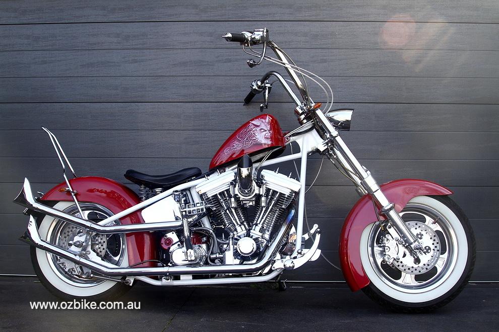 custom Harley-Davidson Evo